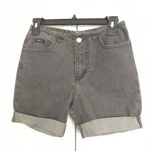 Grey Jean Shorts Fashionable